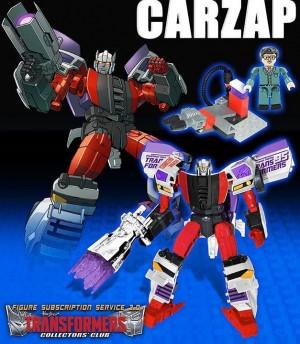Transformers Collectors' Club Subscription Service 3.0 - Carzap and Blackrock