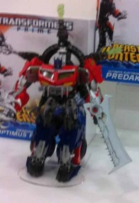 Transformers News: UK Toy Fair: First Looks at Dragon Disc Optimus Prime and Ultimate Predaking  and More