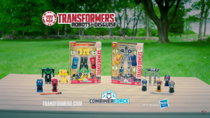 TV Spot for Transformers: Robots in Disguise Combiner Force Ultra Bee and Menasor