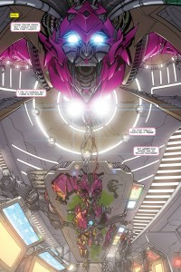 Transformers News: 5 Page Preview of Tales of the Fallen #6: ARCEE