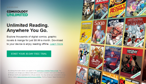 Comixology Unlimited - Online Comic Subscription Service