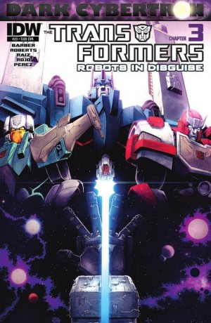 Transformers News: IDW Transformers: Robots in Disguise #23 (DC3) Review