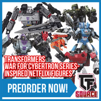 Transformers News: TFSource News - Siege Netflix, Magic Square, Vecma, New Age, Mechanic Studios, Spring Cleaning Sale Begins!