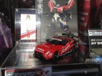 Super GT Optimus Prime and Star Saber on Display at Fuji Speedway