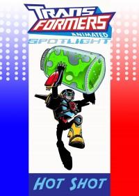 "Fan Comic - ""Transformers Animated Spotlight - Hot Shot"""