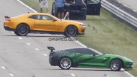 6th Generation Camaro Spotted on Transformers 4 Set