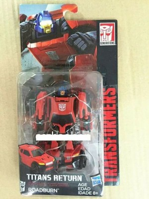 Transformers News: Titans Return Legends Roadburn aka Chase Revealed