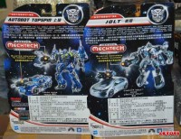 In Package Images with Bios: DOTM Topspin, Jolt, Starscream, & Roadbuster