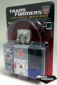 Transformers News: Encore #23 Fortress Maximus Promotion: Diecast Earphone Jack Plug