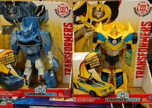 New Robots in Disguise 3-Steps Found at US Retail