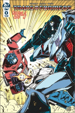 Transformers News: IDW Transformers '84 #0 Review