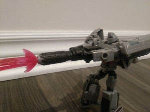 Transformers News: Pictorial Review for Deluxe Megatron from Transformers Cyberverse