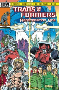 Transformers News: Sneak Peek - Transformers: ReGeneration One #91