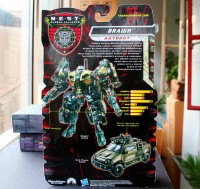 Transformers News: In Package Images of ROTF Deluxe Brawn