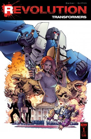 Sneak Peek - IDW Transformers: Revolution One-Shot iTunes Preview