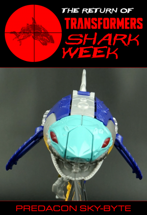 The Return of Transformers Shark Week continues with Predacon Sky-Byte