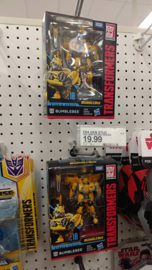Transformers News: Transformers Studio Series Wave 3 Sighted at Retail (includes #18 Bumblebee VW Beetle) #JoinTheBuzz