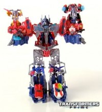 Transformers News: TRANSFORMERS PRIME CYBERVERSE OPTIMUS MAXIMUS PRODUCT DEMO