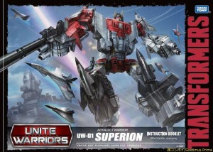 Transformers News: Takara Transformers Unite Warriors Superion Box Set to be Released in Australia