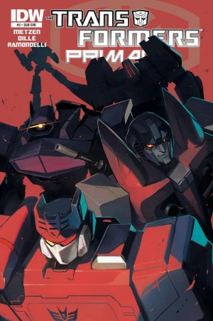 Transformers News: IDW Transformers: Primacy #2 Variant Cover by Sarah Stone Revealed