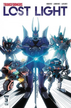 IDW Transformers: Lost Light #3 and #5 Variant Covers