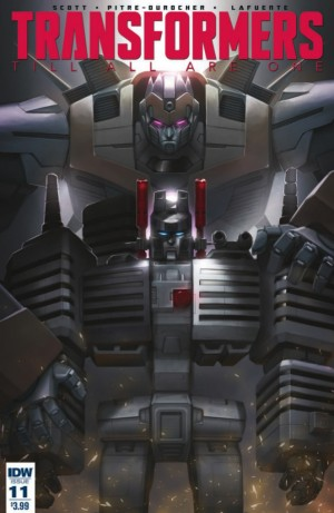 Full Preview for IDW Transformers: Till All Are One #11