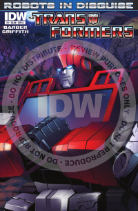 Transformers News: IDW's Transformers: Robots in Disguise #1 Seven Page Preview
