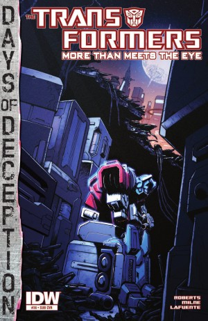 Transformers News: IDW Transformers: More Than Meets the Eye #36 Review