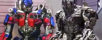 Transformers News: Transformers: The Ride 3D Universal Orlando - Optimus Prime and Megatron Interactive Characters Video Clips
