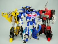 Transformers News: In-Hand Images: Takara Tomy Transformers Go! Samurai Team
