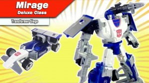 Transformers News: New Video Review of Transformers War for Cybertron Siege Deluxe Class Mirage