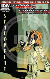 Transformers News: Seibertron.com Reviews IDW Transformers: More Than Meets The Eye #9 - Shadowplay!