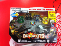 Transformers News: Bot Shots Battle For The Matrix Spotted at Retail