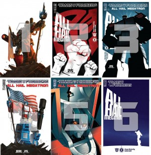 Transformers News: IDW Limited Official Lithograph Series Fan Poll