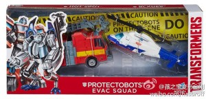 New product images of Hasbro Protectobots