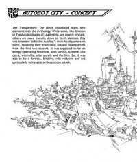 Transformers News: Ark Addendum: Autobot City concept art (double-sized edition)