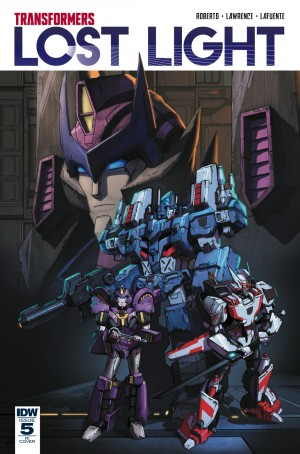 IDW Transformers: Lost Light #5 Variant Cover by Jin Kim