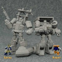 iGear PP05w Weapon Specialist, PP05m Medical Specialist, MW-01 Spray, and MW-02 Rager Pre-Orders Now Open