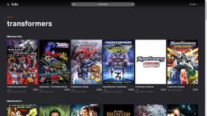 Tubi TV Now Brings You (Most of) Your Favorite Transformers Cartoons of the Past!