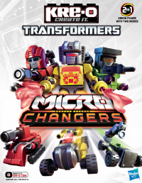 Transformers News: Kreon Micro-Changer Bios, Checklists, and Posters
