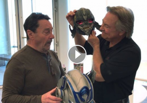 Frank Welker and Peter Cullen in Video to Launch Reveal Your Shield Week