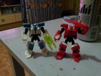 Transformers News: In-Hand Images Cyberverse Tailgate, Fallback, and Skyquake
