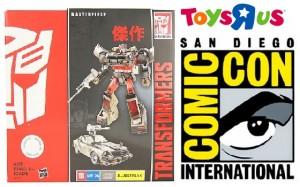 Transformers News: ToysRus Hasbro Transformers Masterpiece - MP-06 Bluestreak SDCC & Online Exclusive