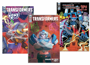 Quick Reviews of Transformers Galaxies #9, Transformers 84 #3, and Transformers My Little Pony #2
