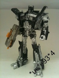 Transformers News: More Images of Milk Exclusive DOTM Deluxe Class Optimus Prime Black Version