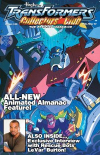 Transformers News: TFCC Magazine Issue 43 Cover Reveal and Preview