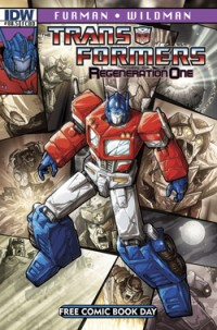 IDW Presents Transformers #80.5 Regeneration One on Free Comic Book Day
