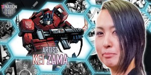 IDW Artist Kei Zama to Attend TFNation 2017