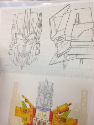 Transformers News: Takara Tomy Transformers Unite Warriors EX Megatronia Shogo Hasui Head Concept