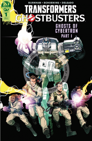 Transformers News: IDW Transformers Ghostbusters - Ghosts of Cybertron Part 1 - Review